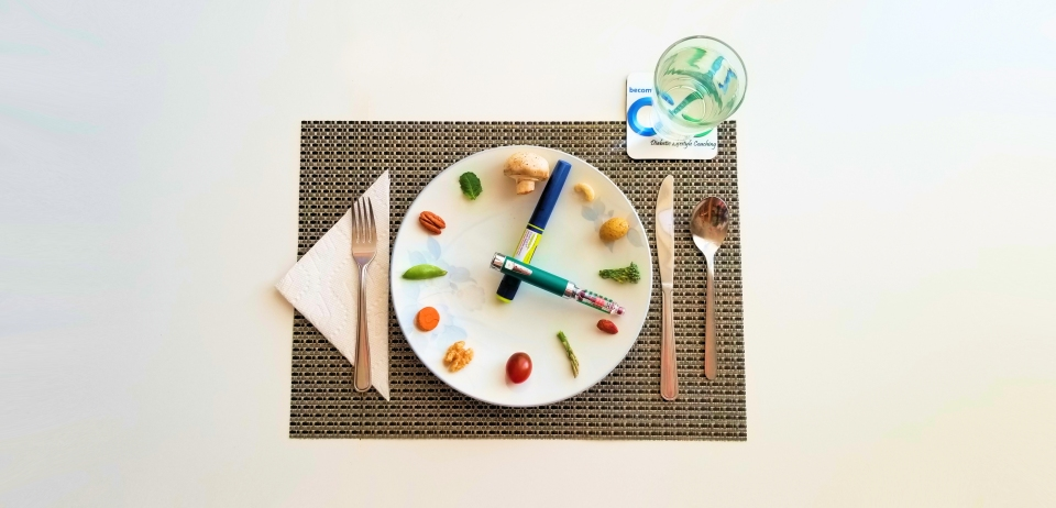 Plate with time