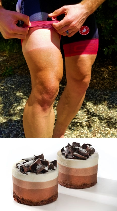 Chocolate Mousse Legs