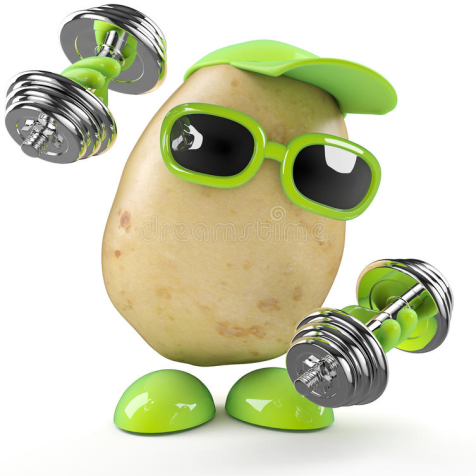 Fit potato
